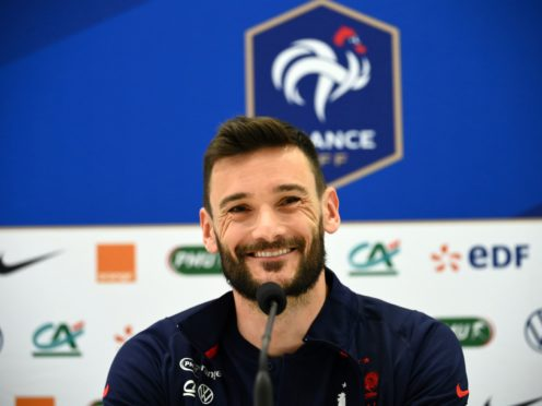 France goalkeeper Hugo Lloris says there are no rifts in the camp (Franck Fife/AP).