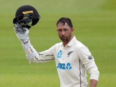 Devon Conway put New Zealand in the driving seat against England (Adam Davy/PA)