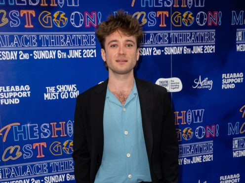 West End star Olly Dobson predicted theatre will come back stronger following the pandemic (Aaron Chown/PA)