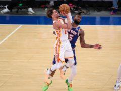 Atlanta Hawks guard Trae Young scored 36 points (Wendell Cruz/AP)