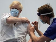 Prime Minister Boris Johnson has set the G7 the target of having the world vaccinated by the end of 2022 (Matt Dunham/PA)