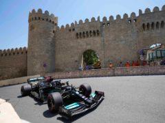 Lewis Hamilton finished only 11th in Azerbaijan on Friday (Darko Vojinovic/AP)