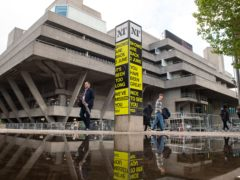 The National Theatre, on the South Bank (Dominic Lipinski/PA)