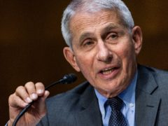 Dr Anthony Fauci, director of the US National Institute of Allergy and Infectious Diseases (Pool/AP)