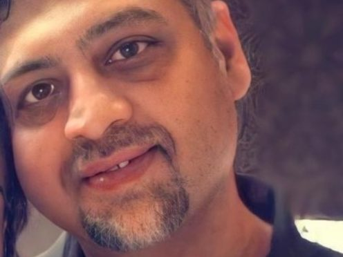The body of 48-year-old Rahul Thakur was found inside a flat in McCulloch Street (Police Scotland/PA)