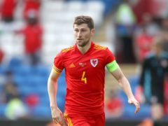 Ben Davies led Wales in the absence of Gareth Bale (Nick Potts/PA)