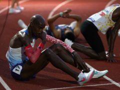 Great Britain's Mo Farah failed to qualify for the Olympics on Saturday (Martin Rickett/PA)
