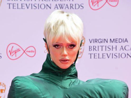Bimini Bon Boulash arrives for the Virgin Media BAFTA TV awards at the TV Centre, Wood Lane, London. Picture date: Sunday June 6, 2021.
