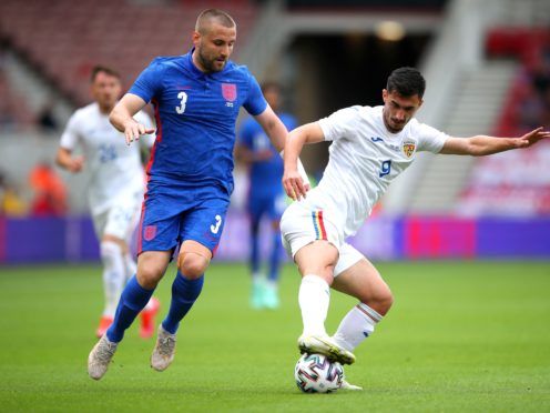 England's Luke Shaw has battled his way back into the Three Lions squad (Nick Potts/PA)