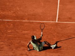 Serena Williams tumbled out of the French Open in the fourth round (Thibault Camus/AP)