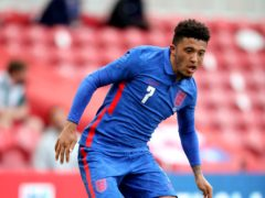 Jadon Sancho is unconcerned with talk over his future (Nick Potts/PA)