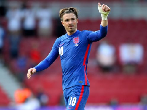 Jack Grealish has seven England caps after deciding to represent the Three Lions over the Republic of Ireland (Nick Potts/PA)