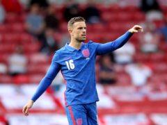 England midfielder Jordan Henderson has dedicated his MBE to NHS staff (Nick Potts/PA)