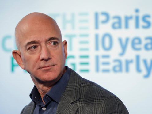 Jeff Bezos (Pablo Martinez Monsivais/AP)