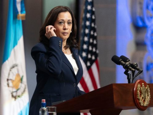 Vice President Kamala Harris has told potential migrants not to come to the US during her visit to Guatemala (Jacquelyn Martin/AP)