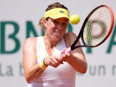 Anastasia Pavlyuchenkova battled past Elena Rybakina (Christophe Ena/AP)