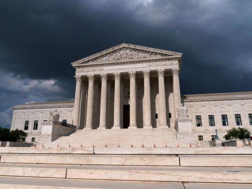 The US Supreme Court in Washington DC has dismissed a legal challenge to Barack Obama's health care laws (J. Scott Applewhite/AP)