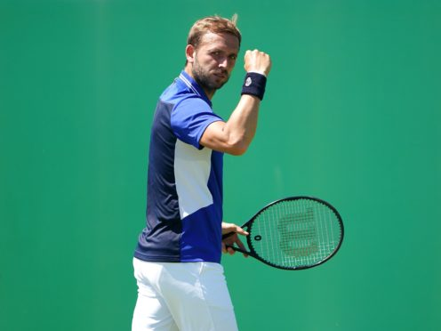 Dan Evans is struggling with life in a tournament bubble (Zac Goodwin/PA)