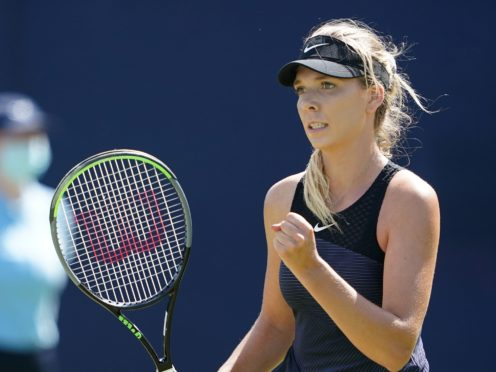 Katie Boulter was in impressive form at the Nottingham Open (Zac Goodwin/PA)