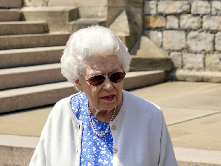 The Queen will be joined for tea at Windsor by Joe Biden and First Lady Jill Biden (PA)