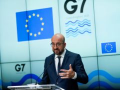 European Council President Charles Michel has warned of action against the UK (Francisco Seco/AP)