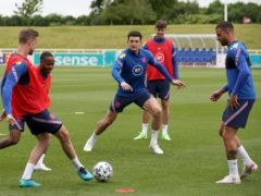 Harry Maguire trained with England on Thursday (Nick Potts/PA)