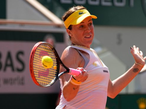 Anastasia Pavlyuchenkova powered her way into the French Open final (Michel Euler/AP)