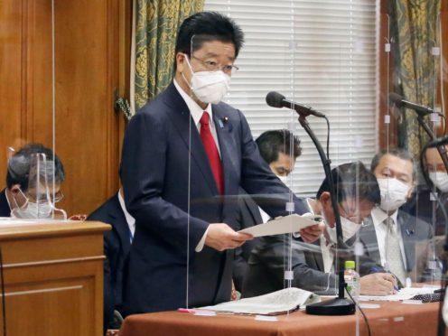 Japan's chief cabinet secretary Katsunobu Kato (Kyodo News/AP)