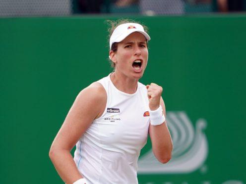 Johanna Konta has reached the Viking Open semi-finals (Zac Goodwin/PA)