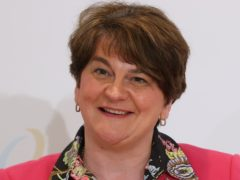 First Minister Arlene Foster attends a press conference after the British Irish Council summit (Liam McBurney/PA)