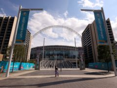 Wembley plays host to England against Scotland on Friday (Steven Paston/PA)