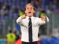 Italy manager Roberto Mancini has rejected the idea that his side would play out a Euro 2020 draw against Wales in Rome (Alberto Lingria/AP)