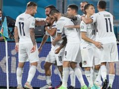 Italy made a confident start to Euro 2020 (Ettore Ferrari/AP)