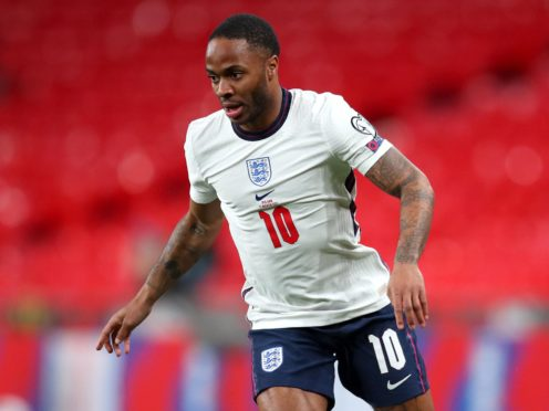 Raheem Sterling scored his first-ever tournament goal as England beat Croatia. (Catherine Ivill/PA)