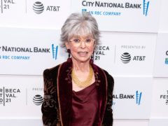 Oscar-winning actress Rita Moreno said she is 'incredibly disappointed with myself' after dismissing criticism of diversity in musical In The Heights (Charles Sykes/Invision/AP)
