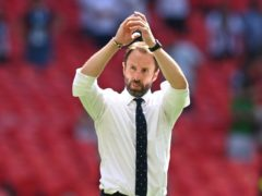 England's manager Gareth Southgate turned his attentions to Scotland after the win over Croatia (Glyn Kirk/AP)