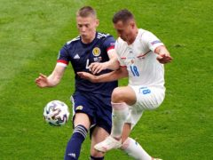 Scotland's Scott McTominay (left) looking for positive result at Wembley (Jane Barlow/PA)