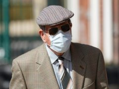 David Venables, 88, arrives at Worcester Magistrates' Court, where he is charged with murdering his wife, Brenda Venables in 1982 (Jacob King/PA)