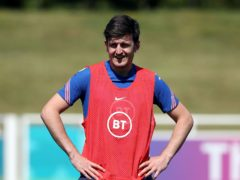 Harry Maguire is pushing for his first Euros appearance (Nick Potts/PA)