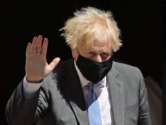 Prime Minister Boris Johnson leaves 10 Downing Street to attend Prime Minister's Questions at the Houses of Parliament, London. Picture date: Wednesday June 16, 2021.