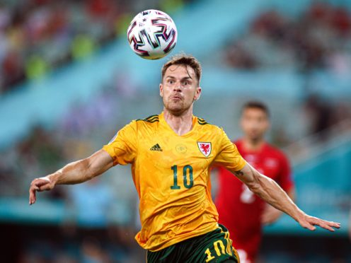 Aaron Ramsey opened the scoring in Wales' 2-0 win over Turkey at Euro 2020 (PA)
