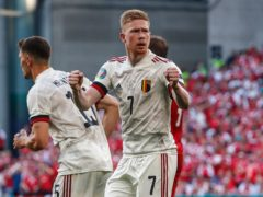 Kevin De Bruyne starred from the bench as Belgium booked their place in the last 16 at Euro 2020 (Wolfgang Rattay/AP/PA)