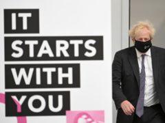 Prime Minister Boris Johnson (Oli Scraff/PA)