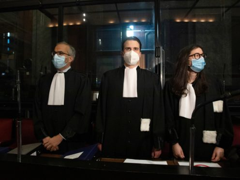 The European Commission's case against AstraZeneca was heard in the main courthouse in Brussels, Belgium (Virginia Mayo/AP)