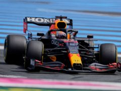 Max Verstappen was fastest in practice for the French Grand Prix (Francois Mori/AP)