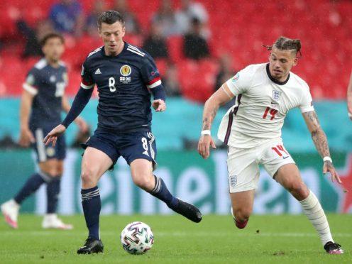 Callum McGregor impressed in midfield for Scotland (Nick Potts/PA)