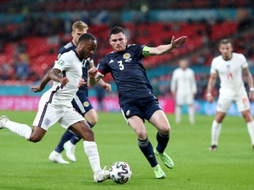 Scotland were good value for their point against England at Wembley (Nick Potts/PA)