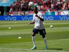 France forward Ousmane Dembele will miss the rest of Euro 2030 (Darko Bandic/AP/Press Association Images)