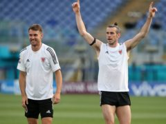 Aaron Ramsey (left) and Gareth Bale (right) will be looking to combine again when Wales face Italy at the Stadio Olimpico in Rome (Marco Iacobucci/PA)