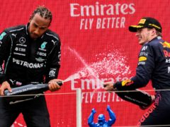 Lewis Hamilton trails Max Verstappen by 14 points after seven rounds (Francois Mori/AP)